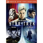 Star Trek, Star Trek Into Darkness & Star Trek Beyond DVD