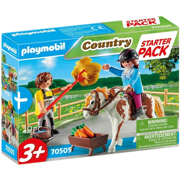 Playmobil Starter Pack Horseback Riding Playset
