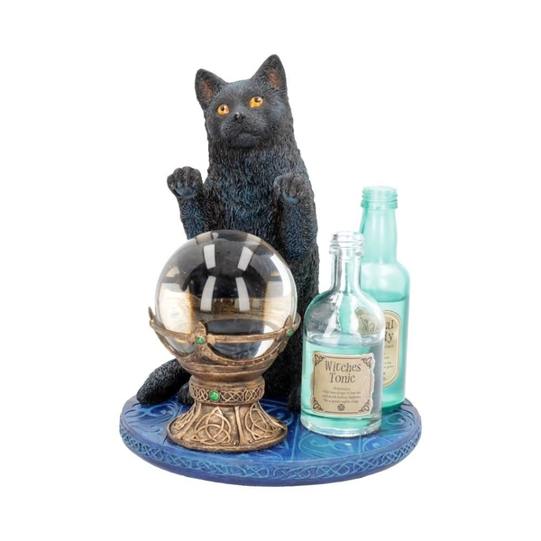 The Witches Apprentice Cat Figurine