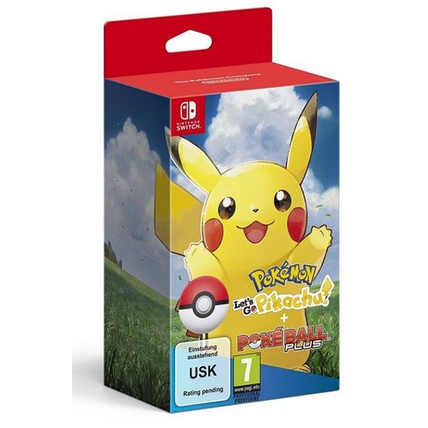 Pokemon Let's Go Pikachu! with Poke Ball Plus Nintendo Switch Game