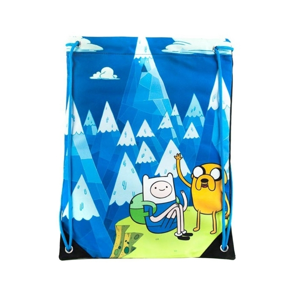 Adventure Time Jake & Finn Gym Bag