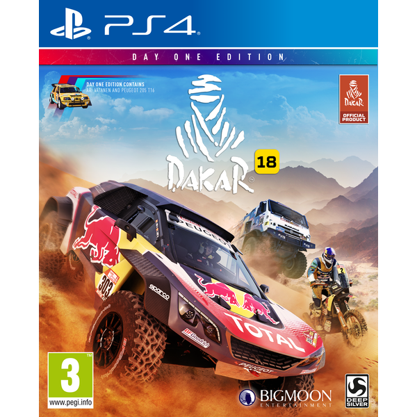 Dakar 18 Day One Edition PS4 Game