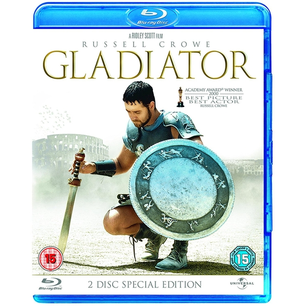 Gladiator Special Edition 2 Discs Blu-Ray