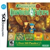 Ex-Display Professor Layton 3 and the Lost (Unwound) Future Game DS Used - Like New