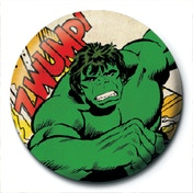 Marvel Retro - Hulk Clipping Badge
