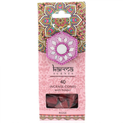 Karma Rose Incense Cones Gift Set