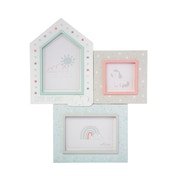 Sass & Belle Evie Unicorn Three Multi Photo Frame