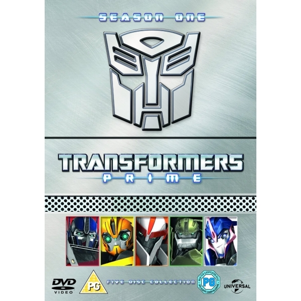 Transformers Prime - Season 1 Parts 1-5 Collection DVD