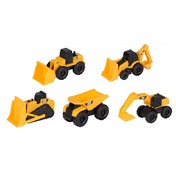 CAT Mini Machines - 5 Toy Vehicle Playset