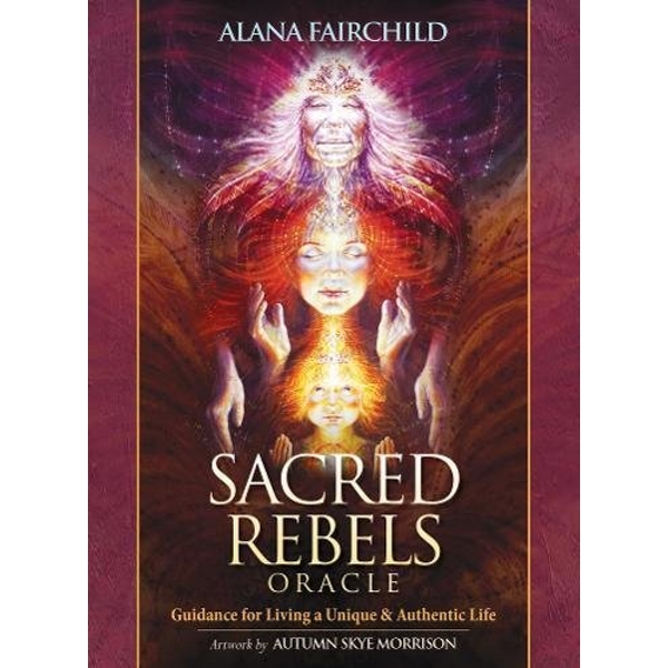 Sacred Rebel Oracle Wisdom of Astar 2015 Mixed media product