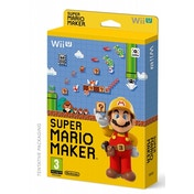 (Damaged Packaging)  Super Mario Maker + Artbook Wii U Game Used - Like New