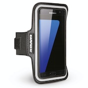 Caseflex Apple Samsung Galaxy S7 Edge Armband - Black (Retail Box)