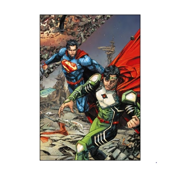 DC Comics Superman Krypton Returns New 52 Hard cover