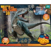Walking with Dinosaurs 200 Piece 3D Jigsaw Puzzle