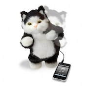 Ex-Display Thumbs Up Dancing Cat Speakers Used - Like New