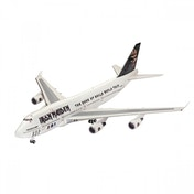 """Ex-Display Boeing 747-400 Iron Maiden """"Ed Force One"""" (Revell) 1:144 Scale Level 4 Model Kit Used - Like New"""
