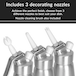 500ml Whipped Cream Dispenser | M&W - Image 2