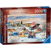 Winter on The Farm Jigsaw Puzzle - 1000 Pieces