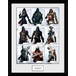 Assassins Creed Compilation Characters Framed Collector Print - Image 2