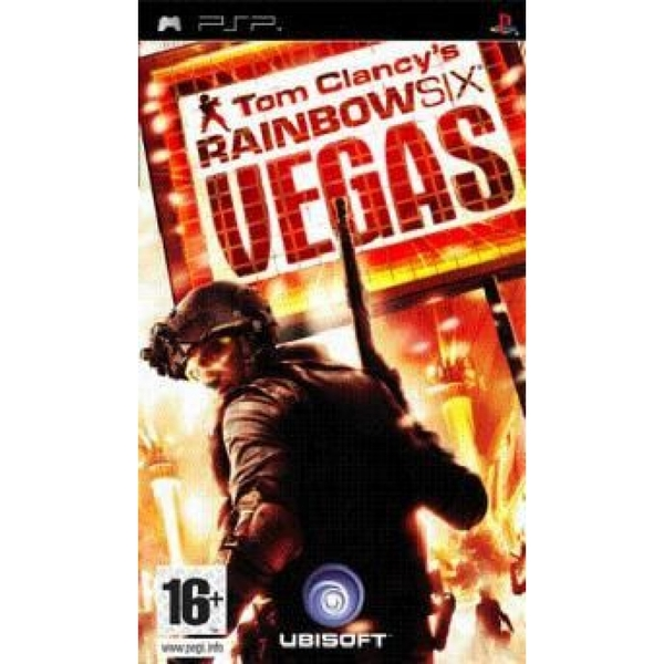 Tom Clancys Rainbow Six Vegas Game PSP