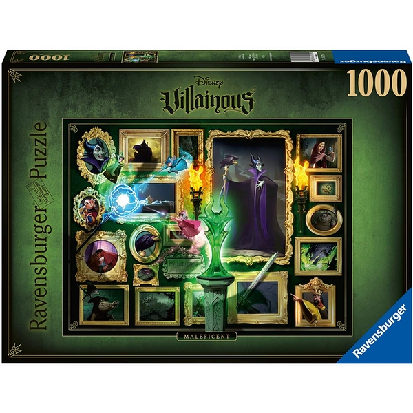 Ravensburger Disney Villainous Maleficent 1000 Piece Jigsaw Puzzle,
