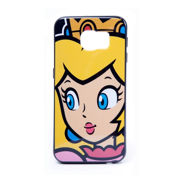 Nintendo - Princess Peach Face Samsung S6 Phone Cover