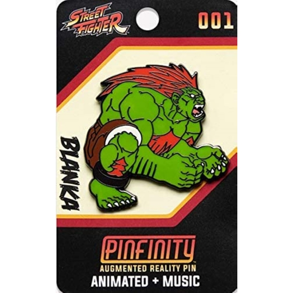 PFSF001 Street Fighter-Blanka Augmented Reality Pin
