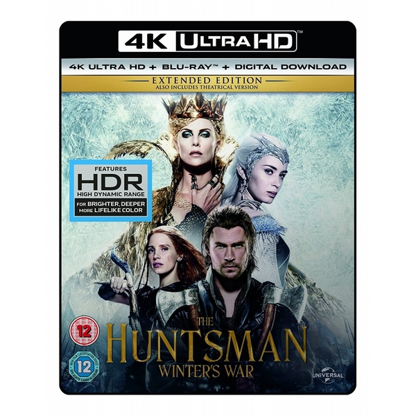 The Huntsman: Winter's War 4K UHD + Blu-ray + Digital Download
