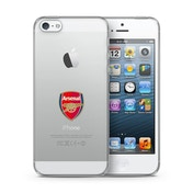 Official Arsenal F.C. Merchandise TPU Clear iPhone 5 Cover