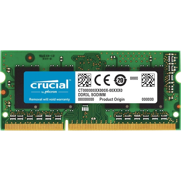 Crucial 4GB DDR3 PC3-14900 1866MHz CL13 1.35V SODIMM for Mac