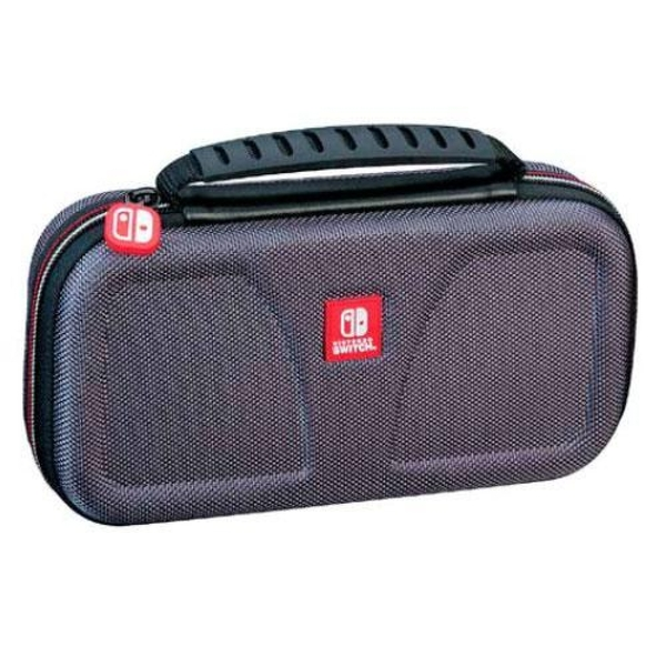 Deluxe Travel Case Black for Nintendo Switch Lite