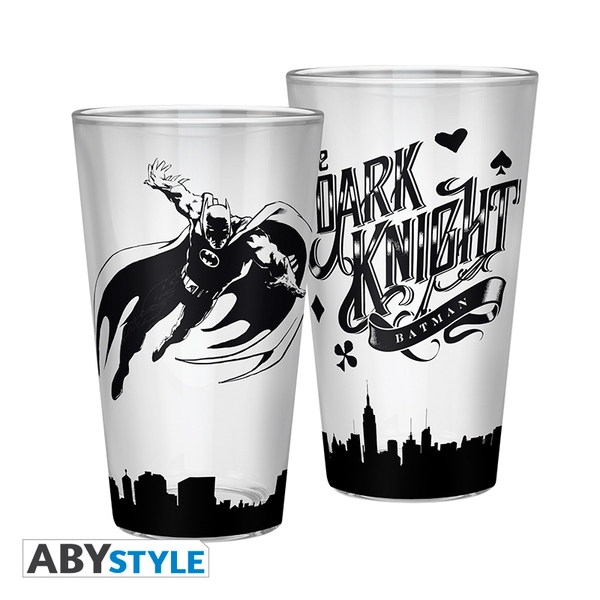 DC Comics - Batman Dark Knight Large Glass