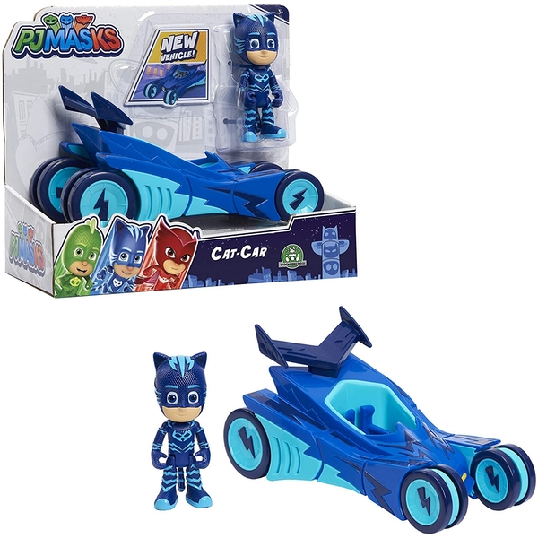 Catboy Series 2 (PJ Masks) Figure & Vehicle