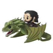 Jon Snow Riding Rhaegal (Game Of Thrones) Funko Pop! Vinyl Figure