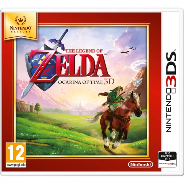 The Legend Of Zelda Ocarina Of Time 3D Game 3DS (Selects)
