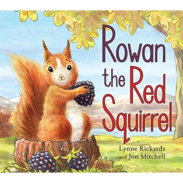 Rowan the Red Squirrel  Paperback / softback 2018