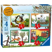 Stickman Puzzle Pack of 4