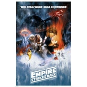 Star Wars - The Empire Strikes Back (one Sheet) Maxi Poster