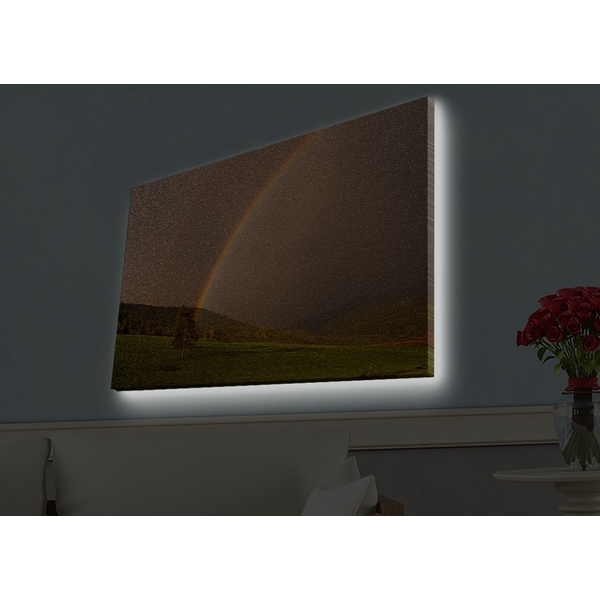 4570HDACT-014 Multicolor Decorative Led Lighted Canvas Painting