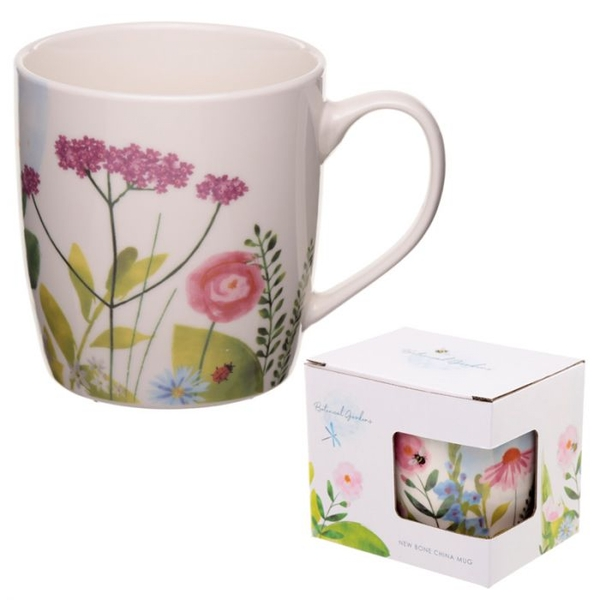 Botanical Gardens Design New Bone China Mug