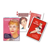 Sassy Women Collectors Playing Cards