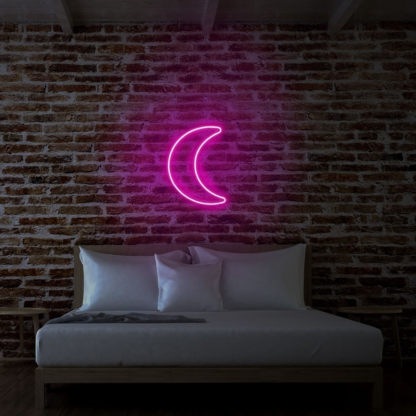 Crescent - Pink Pink Wall Lamp