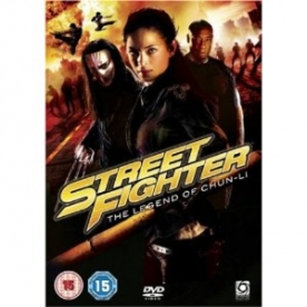 Street Fighter The Legend Of Chun-Li DVD