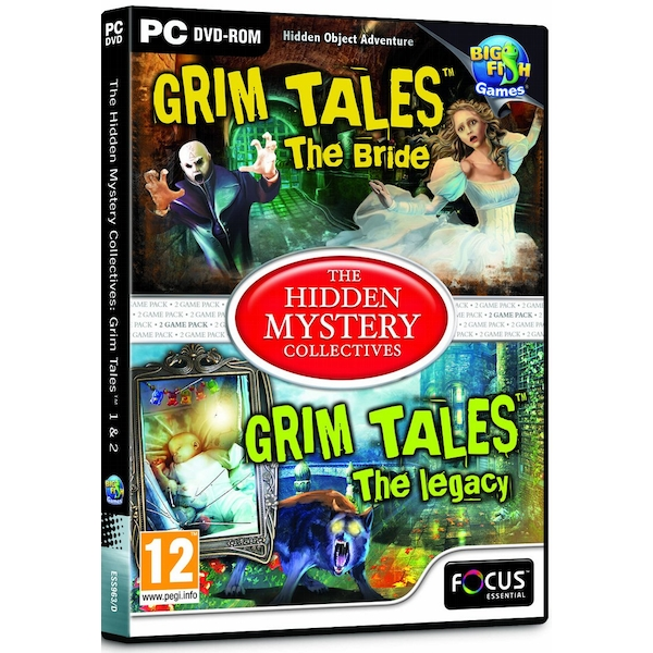 Grim Tales 1 & 2 The Hidden Mystery Collectives PC Game