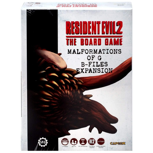 Resident Evil 2: Malformations of G - B-Files Board Game (Expansion 2)