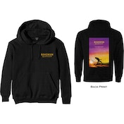 Queen - Bohemian Rhapsody Movie Poster Men's XX-Large Pullover Hoodie - Black
