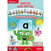 Learn To Read With Alphablocks - Phonics First Steps Volume 1 DVD