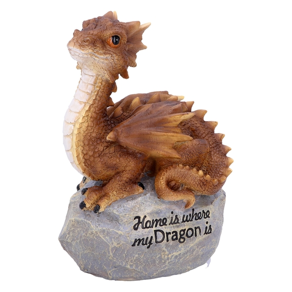Home Is Where My Dragon Is Ornament