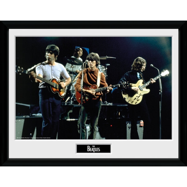 The Beatles Live Framed #2 16x12 Photographic Print