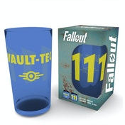 Fallout Vault 111 Coloured Glass Premium Large Glass